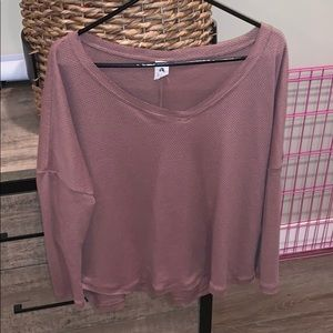 Vici Sweaters - Meant To Be Thermal Knit Top